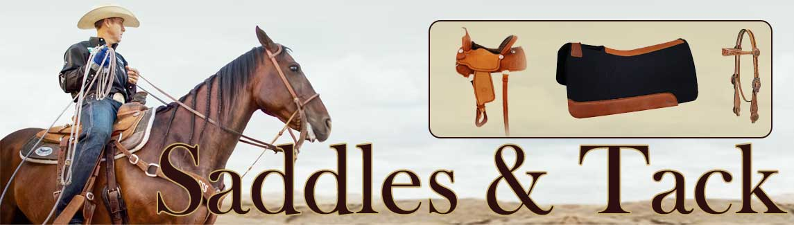saddles, tack, bits, spurs, saddle pads, reins and more