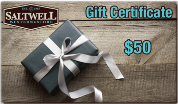 Saltwell Western Store $50 gift certificate